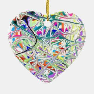 abstract1 ornement cœur en céramique