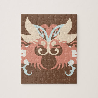 Abstraction cinq Tlaloc Puzzle