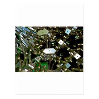 Abstraction mécanique de câble cartes postales