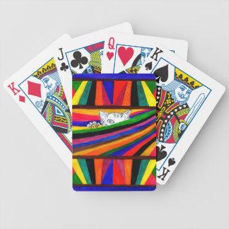 Abstraction rayée Design2 Jeu De Cartes