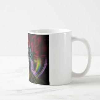 Abstraitement dans la perfection pop sorte mug blanc