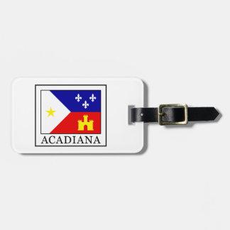 Acadiana Étiquette À Bagage