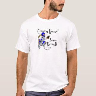 Accédez nié, bleu t-shirt