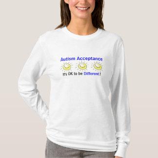 Acceptation d'autisme : Il est CORRECT d'être T-shirt