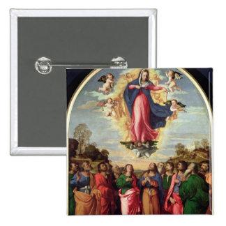 Acceptation de la Vierge Badge