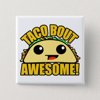 Accès de taco impressionnant badge