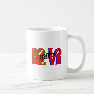 Accessoires d'amour de wit de Rome Mug