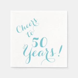 Acclamations à 50 ans de serviettes de papier serviette jetable