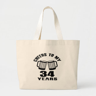 Acclamations à mes 34 années de conceptions grand tote bag