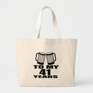 Acclamations à mes 41 années de conceptions grand tote bag