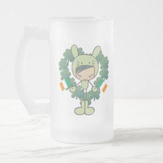 acclamations ! ! ! mug en verre givré