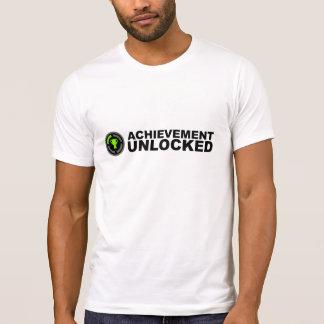 Accomplissement débloqué t-shirt