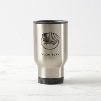 Accordéon rocailleux mug de voyage