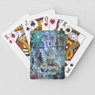 """""""Accrochons les cartes ensemble"""" de jeu Cartes À Jouer Poker"""