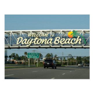 Accueil à Daytona Beach Carte Postale