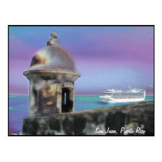 Accueil à la carte postale de San Juan