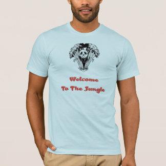 Accueil à la jungle (#1) t-shirt