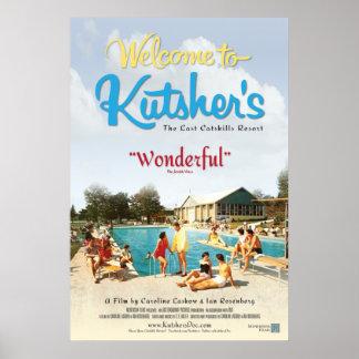 Accueil à l'affiche de film de Kutshers Posters
