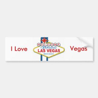 Accueil-à-Las-Vegas Autocollant De Voiture