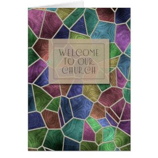 Accueil à notre carte d'église