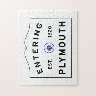 Accueil à Plymouth Puzzle