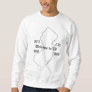 accueil au sweatshirt de NJ