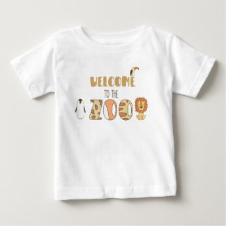 Accueil au T-shirt de zoo