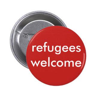 accueil de réfugiés pin's