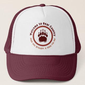 Accueil pour soutenir le pays casquette