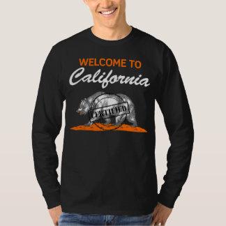 Accueil vers la Californie T-shirt