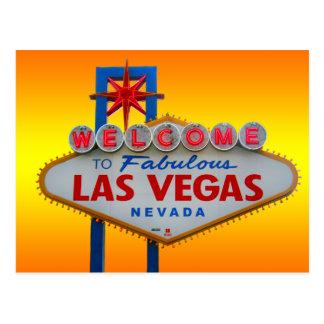 Accueil vers Las Vegas Carte Postale