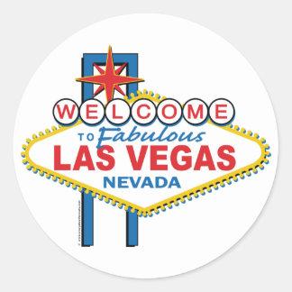Accueil vers Las Vegas fabuleux Adhésif