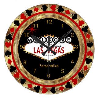 Accueil vers Las Vegas ! Grande Horloge Ronde