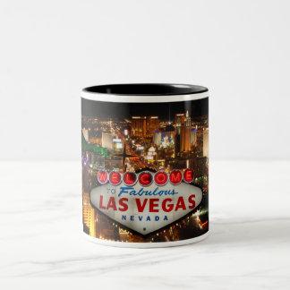 Accueillez à Las Vegas #2 Mug Bicolore