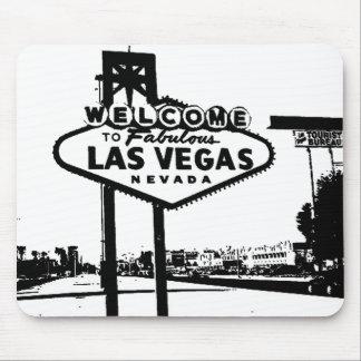 Accueillez au graphique de vecteur de Las Vegas Tapis De Souris
