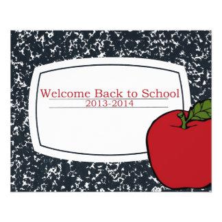 Accueillez de nouveau à l'école 2013 prospectus personnalisés