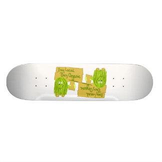 Achat local d'achat olive de Greeen organique Skateoard Personnalisé