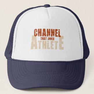 Acheminez ce casquette intérieur d'athlète