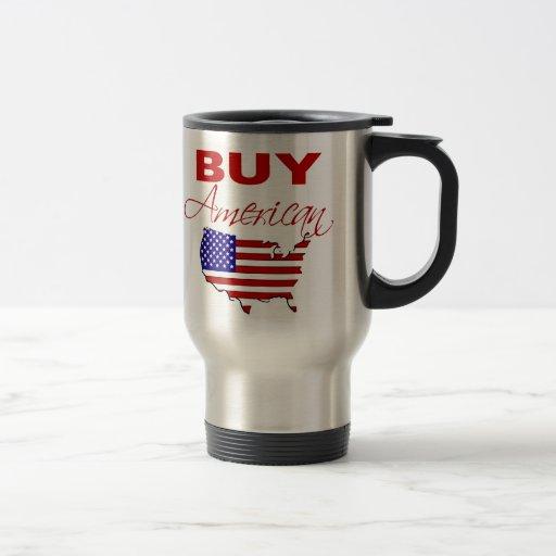 Achetez la tasse américaine de voyage