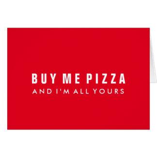 Achetez-moi carte pour notes de Saint-Valentin de