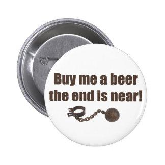Achetez-moi un bouton d enterrement de vie de jeun badges