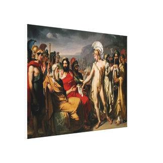 Achille donne à Nestor le prix de la sagesse Toiles