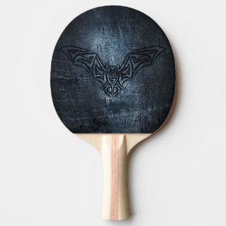 Acier de tribal de batte raquette de ping pong