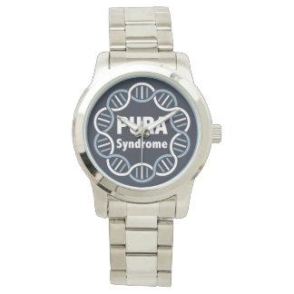 Acier inoxydable de montre de logo de PURA