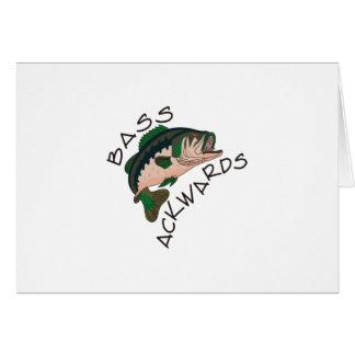 Ackwards bas carte de vœux