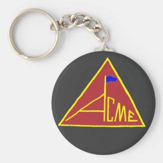 ACME_Flag-Keychain Porte-clé Rond