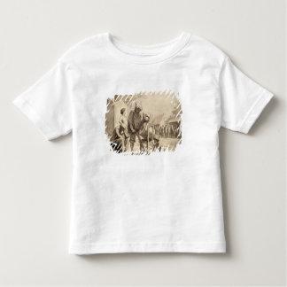 Acrobates au c.1865-69 juste t-shirt pour les tous petits