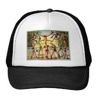 Acrobates masculins casquette