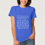 Acronymes drôles de parent d'autisme t-shirts
