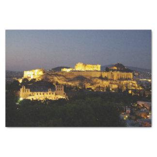 Acropole - Athènes Papier Mousseline
